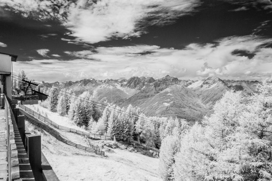 Blick vom Patscherkofel bei Innsbruck