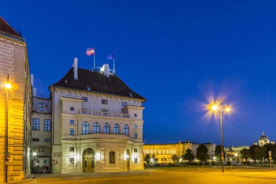 Die Hofburg - Wien