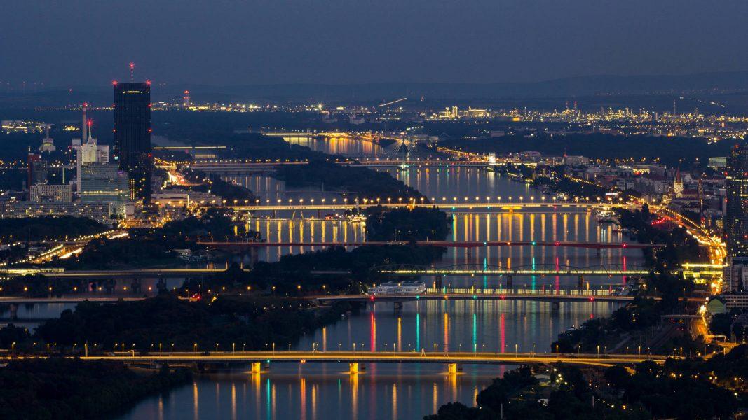 Donaubrücken - Wien